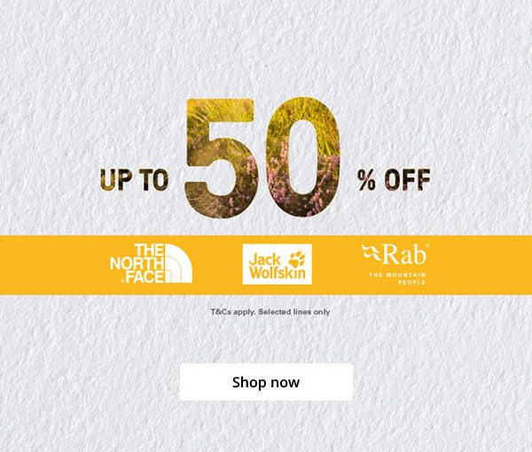 Up to 50 Percent Off - Shop now