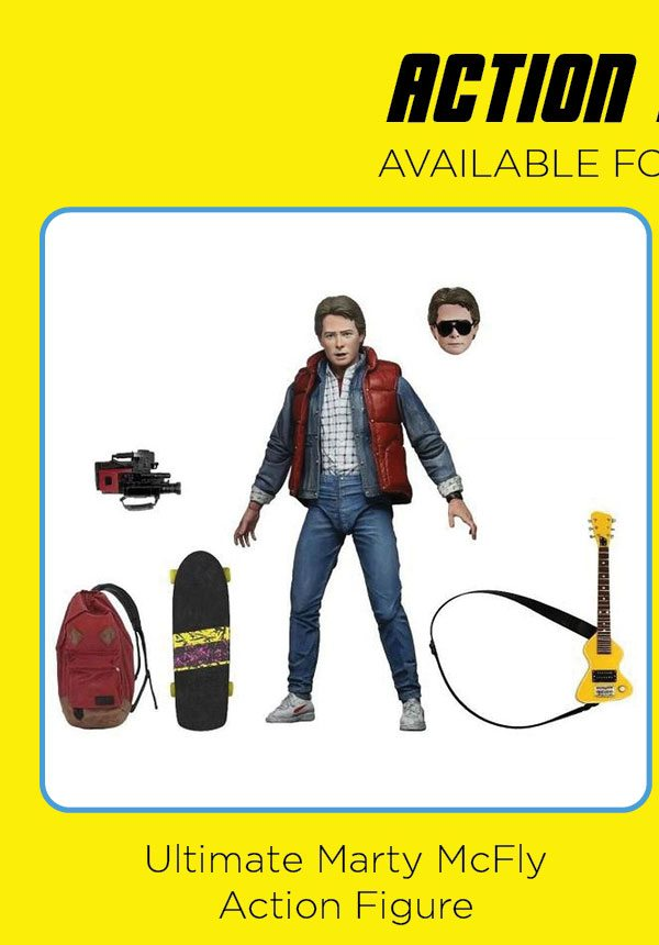 Ultimate Marty McFly Action Figure