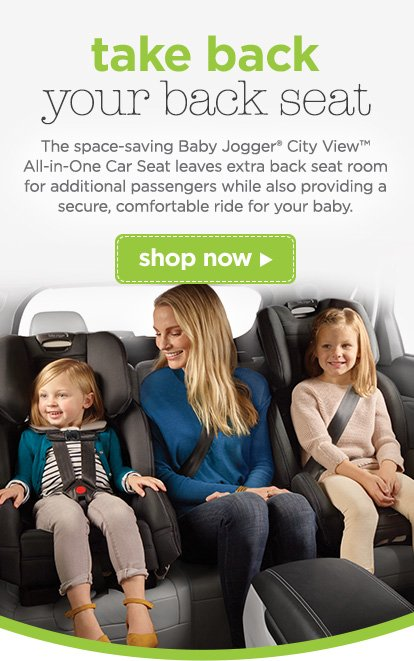 Take Back Your Seat The Space Saving Baby JoggerR City ViewTM