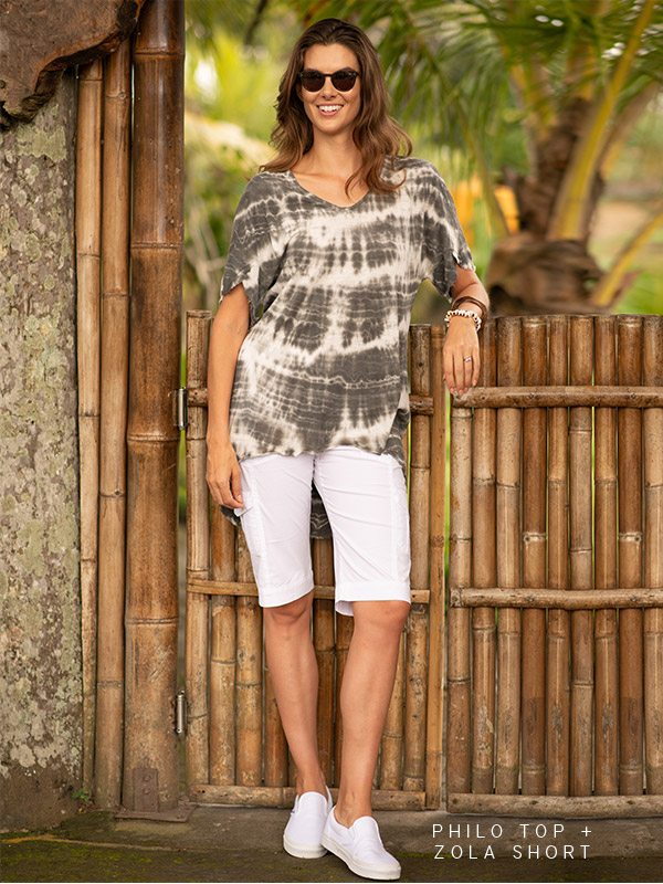 Philo Top + Zola Bermuda Short »