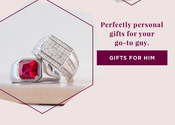 Perfectly personal gifts for your go-to guy