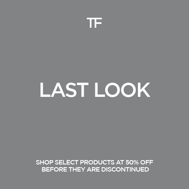 LAST LOOK. SHOP SELECT PRODUCTS AT 50% OFF BEFORE THEY ARE DISCONTINUED.