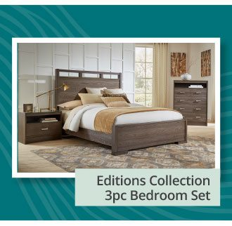 Editions Collection 3pc Bedroom Set