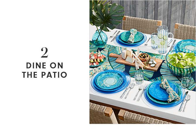 DINE ON THE PATIO