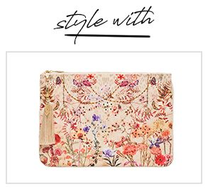 """""""Style with"""" SMALL CANVAS CLUTCH DRIFTING DREAMER"""