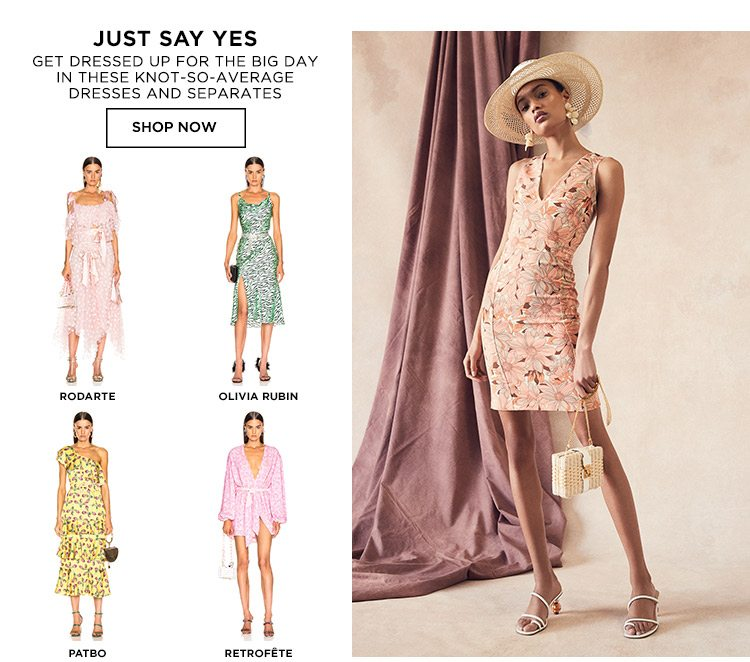 Just Say Yes - Shop Now