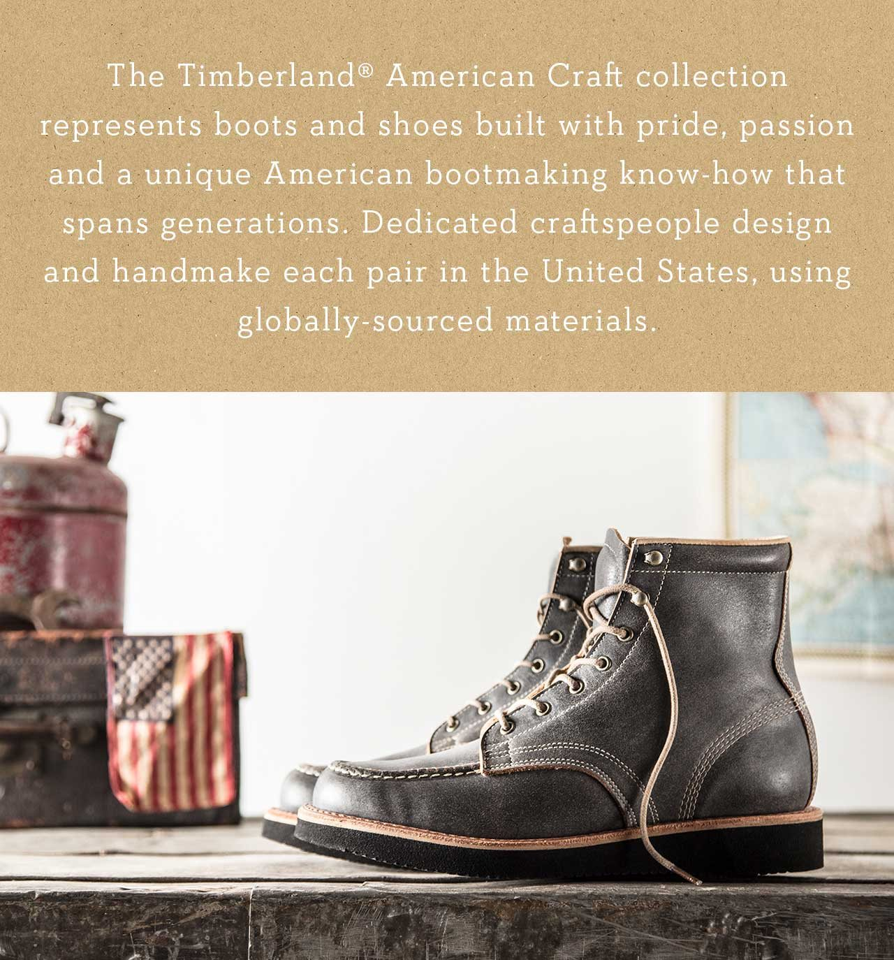 tal vez Rebotar Retirado  Introducing our Timberland® American Craft Collection. - Timberland.com  Email Archive