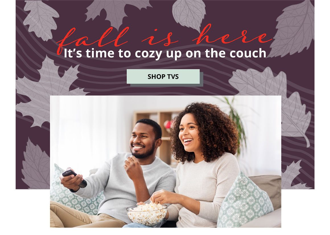 Fall Is Here | It's Time To Cozy Up On The Couch | SHOP TVS