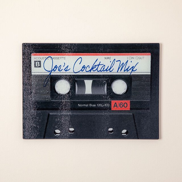 Shop music gifts for Father's Day - Personalized Mixtape Cutting Board