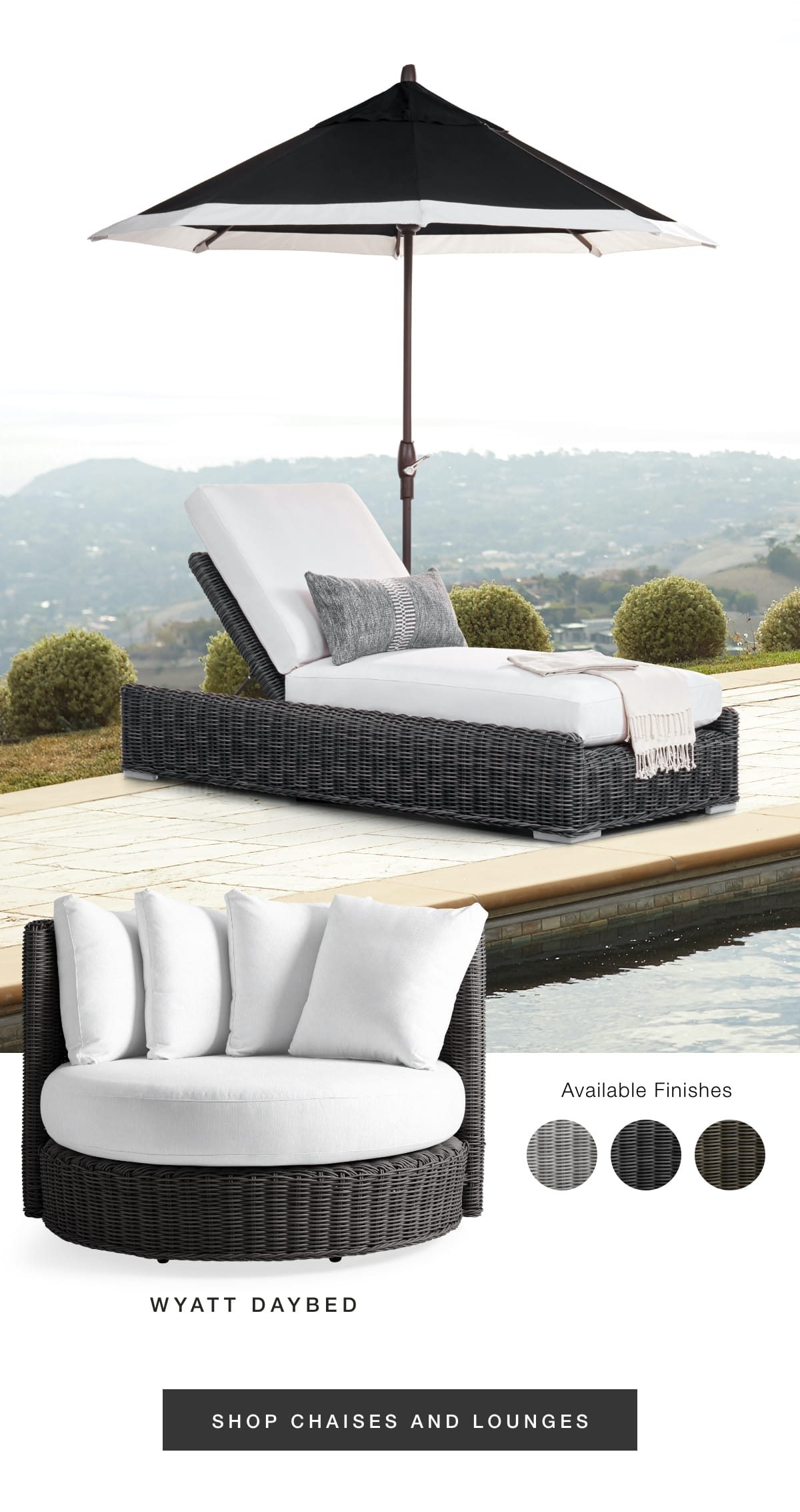 Chaises and lounges