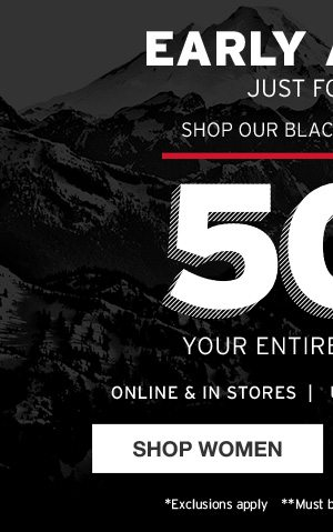 447f7e932e BLACK FRIDAY STARTS NOW! Adventure Rewards Exclusive - Eddie Bauer Email  Archive