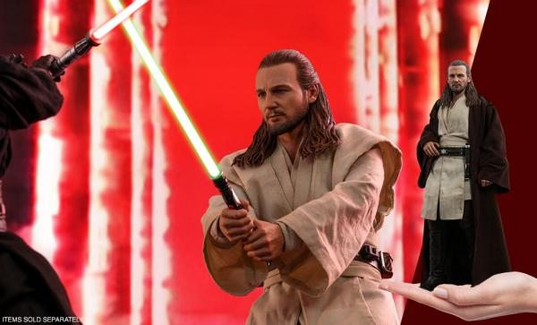 Qui-Gon Jinn Sixth Scale Figure by Hot Toys