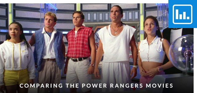 Comparing the Power Rangers Movies