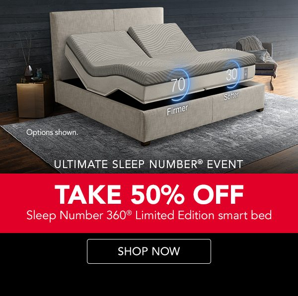 Take 50% off Limited Edition smart bed | Shop now
