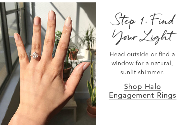 Shop Halo Engagement Rings