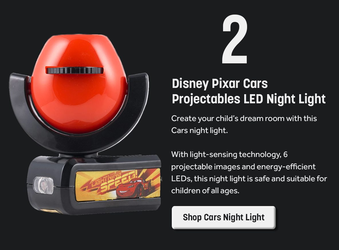 Disney Pixar Cars Projectables LED Night Light