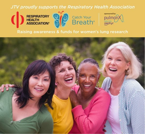 JTV proudly supports Respiratory Health Association. Learn more.