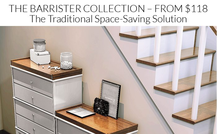 Shop the entire Barrister Collection