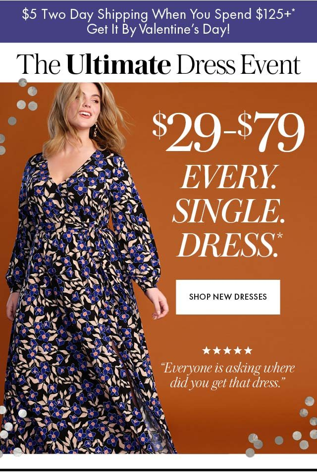 $29-$79 every single dress hero 1