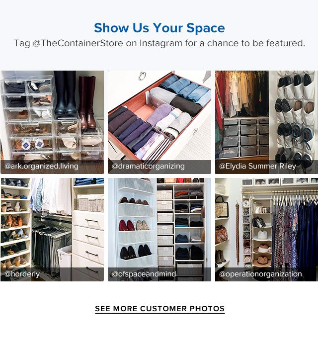 @TheContainerStore   See Customer Photos ›