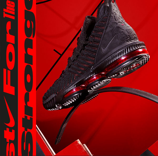 sports shoes d1866 728ef LeBron 16 'Fresh Bred'. - Finish Line Email Archive