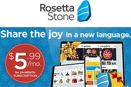 Save 42% off 24-Month Subscription to Rosetta Stone