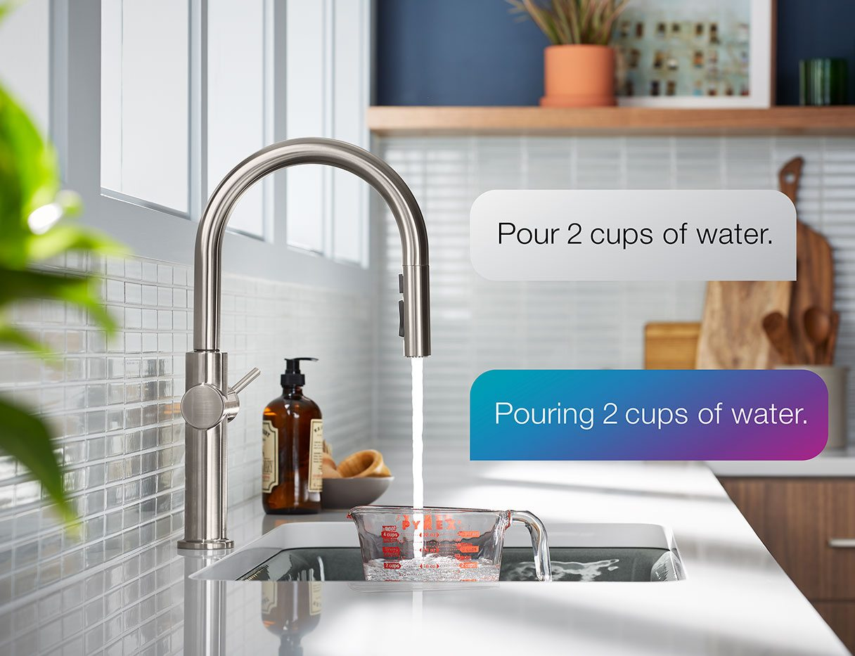 SMART KITCHEN FAUCETS