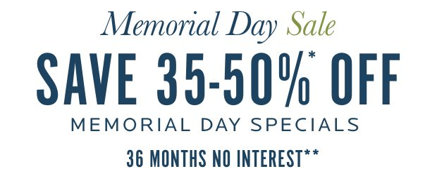 Memorial Day Sale - Up to %0% Off Special Items