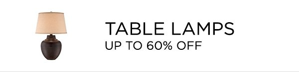 Table Lamps - Up To 60% Off