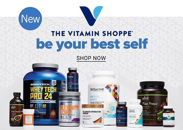 New. The Vitamin Shoppe - Be your best self. Shop Now.