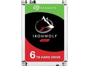 """Seagate IronWolf 6TB NAS 7200 RPM 256MB Cache SATA 6.0Gb/s CMR 3.5"""" Internal HDD for RAID Network Attached Storage"""
