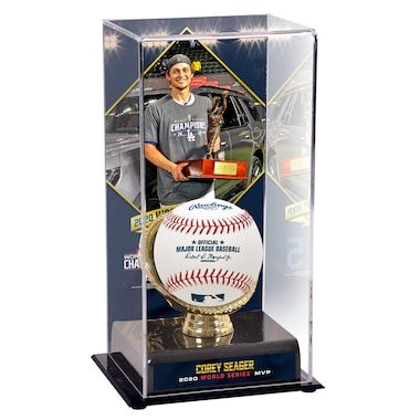 Corey Seager Los Angeles Dodgers Fanatics Authentic 2020 World Series MVP Sublimated Display Case with Image
