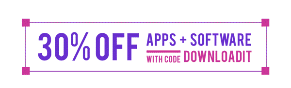 30% Off Apps and Software | With Code DOWNLOADIT