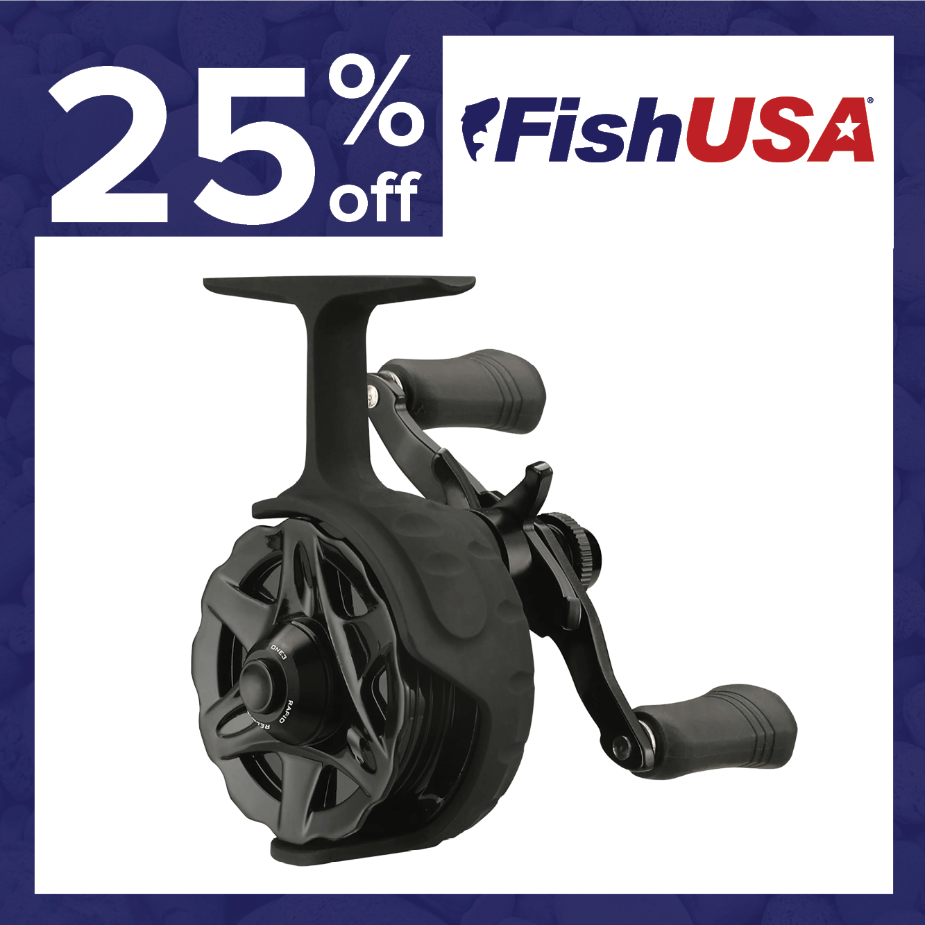 25% off the 13 Fishing Descent Inline Ice Reel