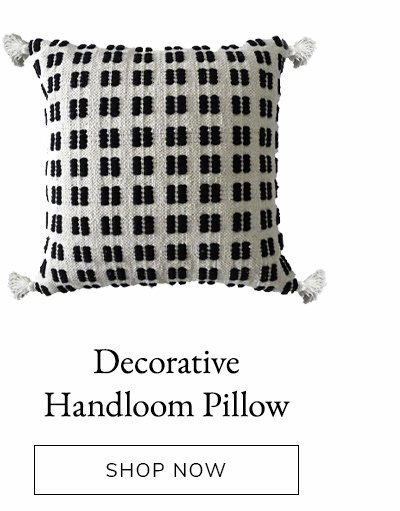 Decorative Throw Pillow for Couch Handloom Woven | SHOP NOW