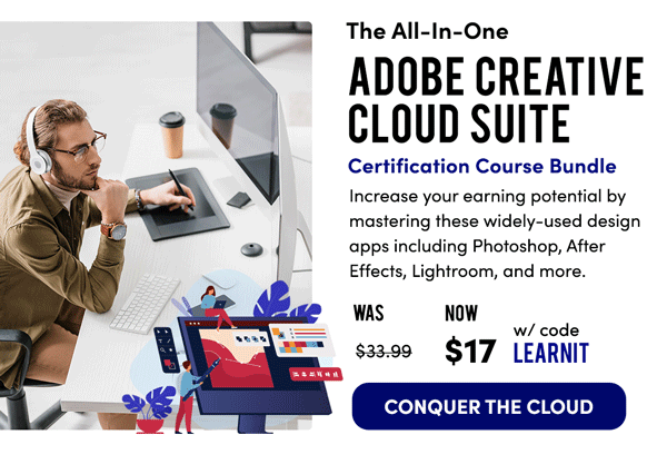All-In-One Adobe Cloud Bundle | Conquer the Cloud