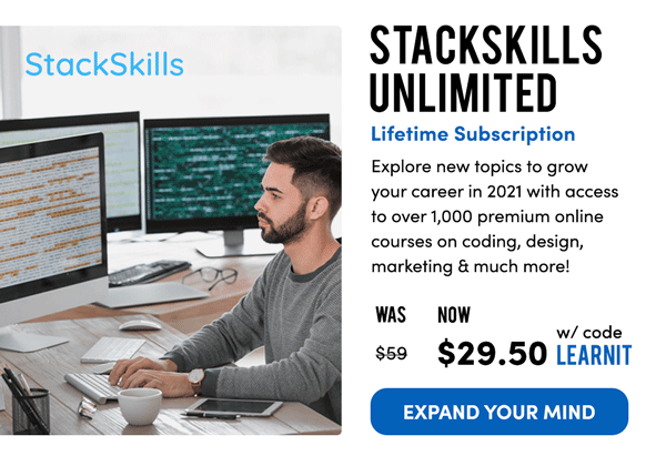 StackSkills Unlimited | Expand Your Mind
