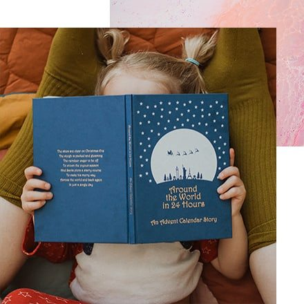 Personalised Christmas Family Story Book