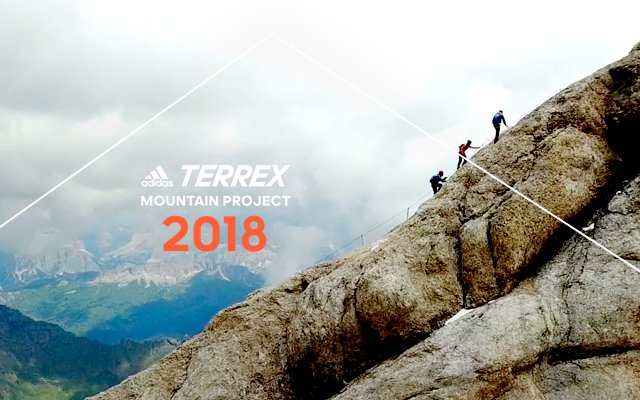 You. A teammate. The Terrex Mountain Project giveaway. - adidas ... 5a43aa7ad0aa