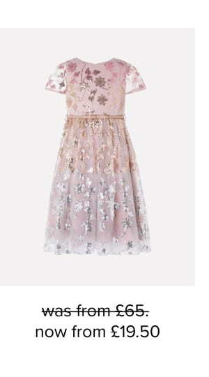 Zoey sequin floral dress multi