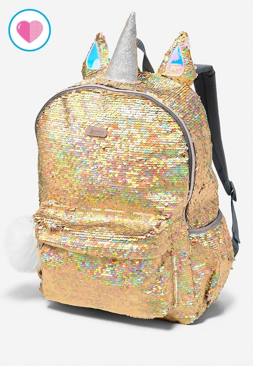 Choose Letter! NWT Justice Girls Rainbow Initial Flip Sequin MINI Backpack