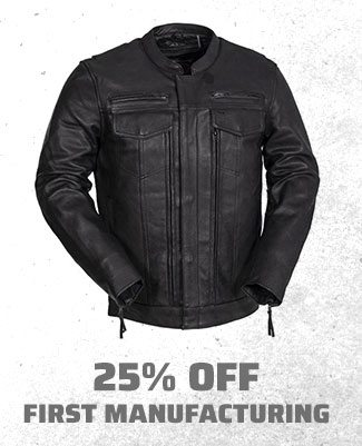 25% off First Manufacturing