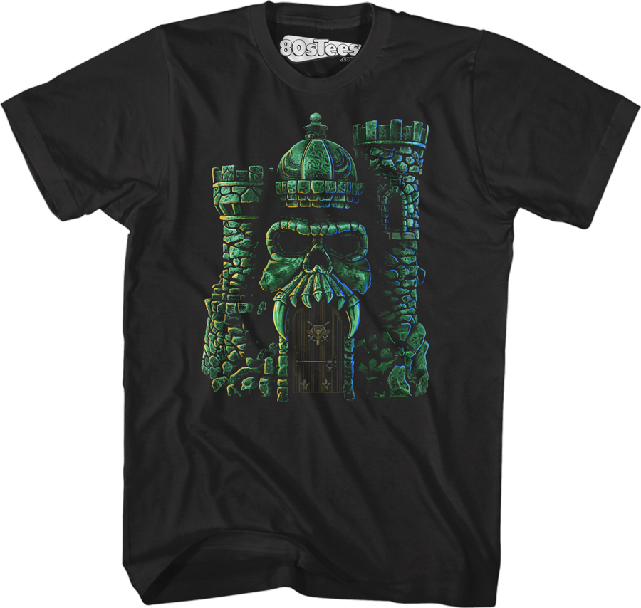 Classic Castle Grayskull Masters of the Universe T-Shirt