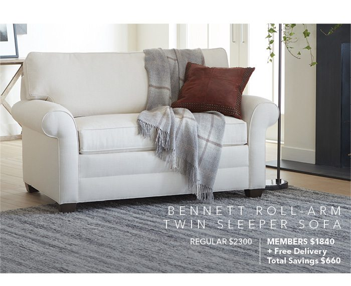 Sleeper Sofas You And Your Guests Will Love Ethan Allen