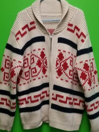 The Dude's Sweater Production Sample