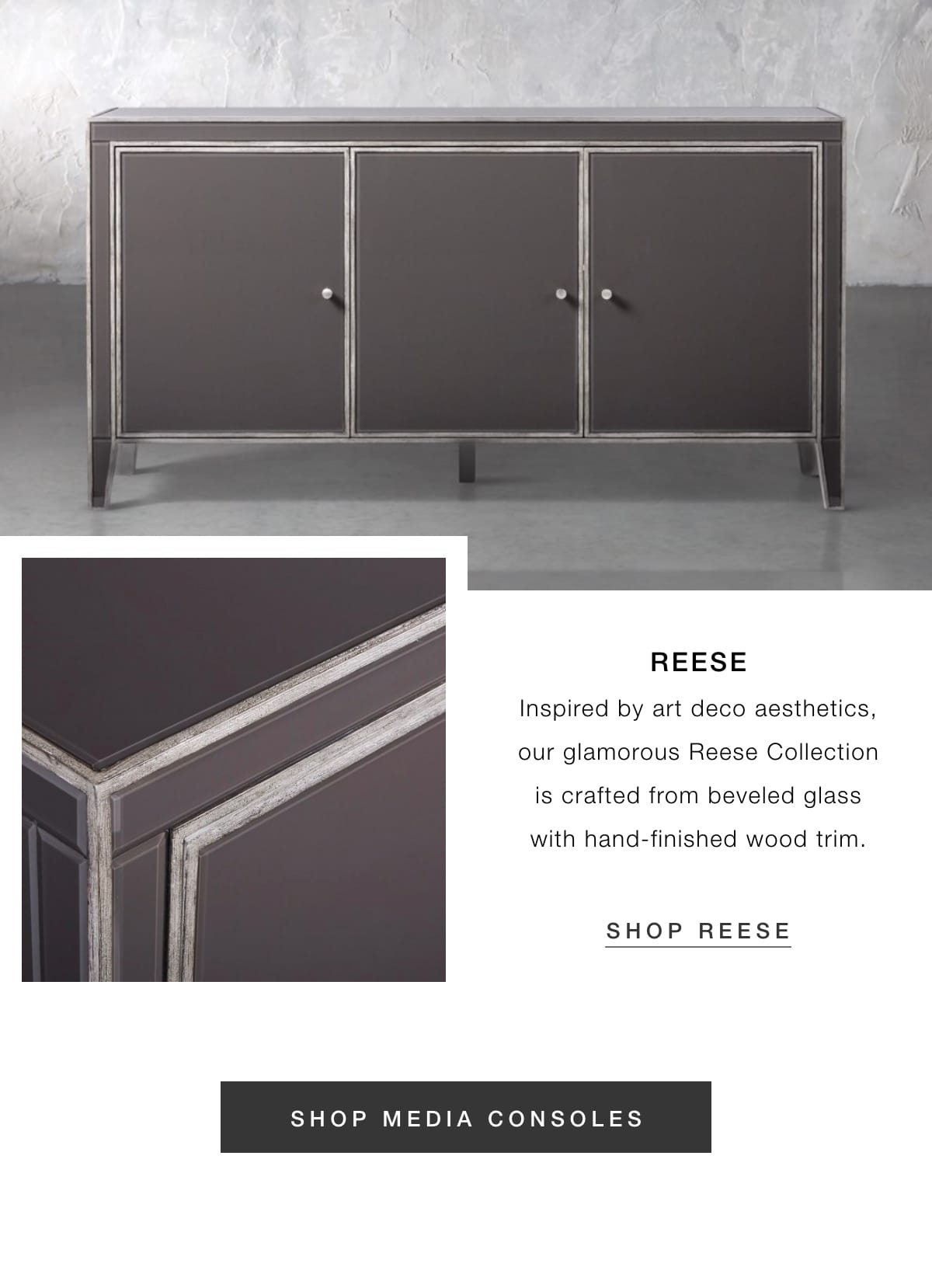 Reese media console