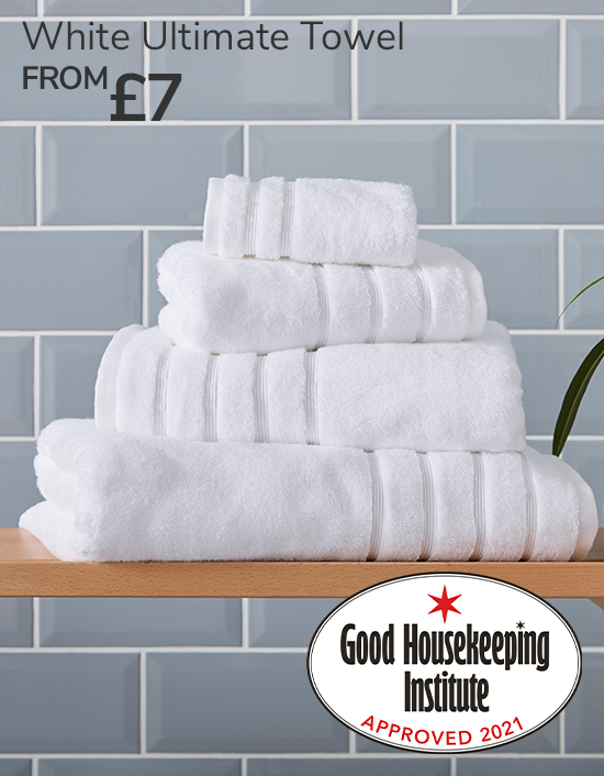 White Ultimate Towel