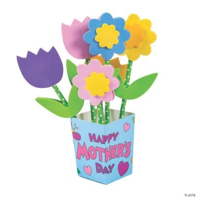 Mother's Day Straw Flower Bouquet Craft Kit
