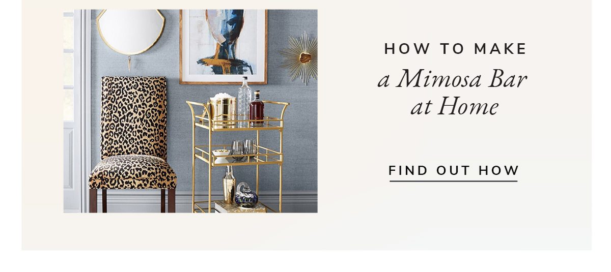 How to make a mimosa bar at home. | FIND OUT HOW
