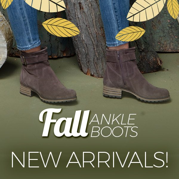 d5275b62a56 Feels like Fall! Shop the latest Ankle Boots + Plus many more ...